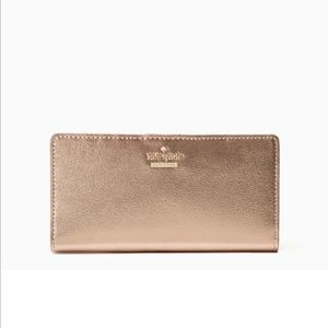 NWT Kate Spade rose gold Highland Drive Stacy